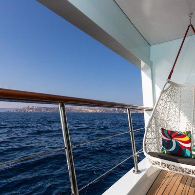 Ocean Paradise Yacht Owner Balcony
