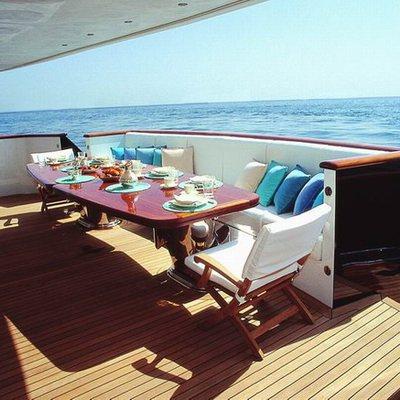 Jasmine Yacht Aft Deck
