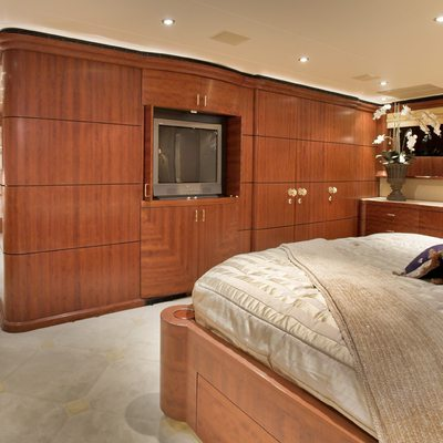 Nicole Evelyn Yacht Master Stateroom - Aft