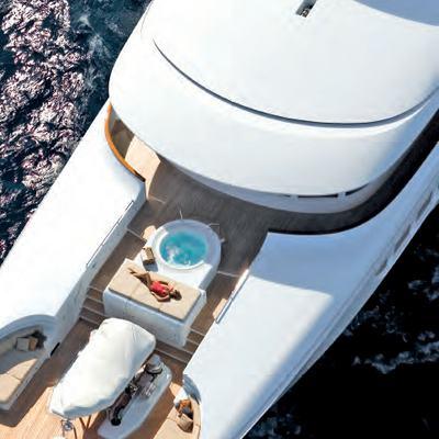 Utopia Yacht Overhead