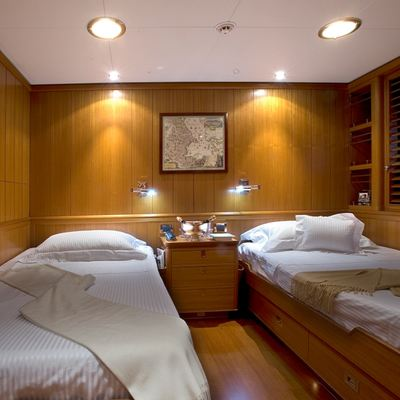 Heritage Yacht Twin Stateroom - Overview