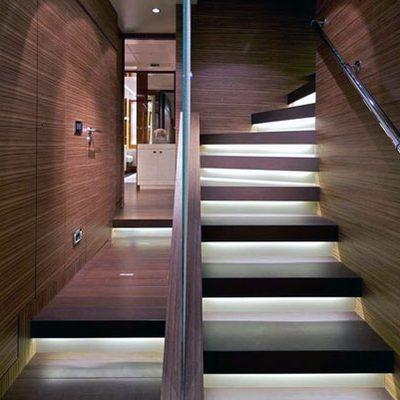O'Pati Yacht Staircase