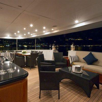 L'Albatros Yacht Main Aft Deck