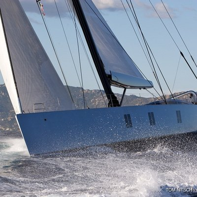 Sharlou Yacht Running Shot - Side View