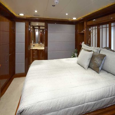 Lady Leila Yacht Guest Stateroom