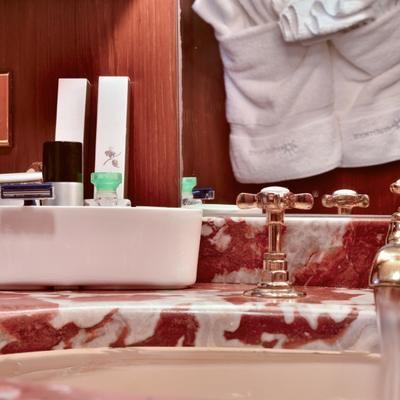 Number Nine Yacht Bathroom Detail