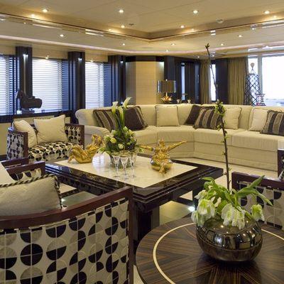 Lady Sheridan Yacht Main Saloon
