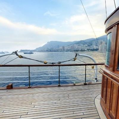 SS Delphine Yacht Main Deck View