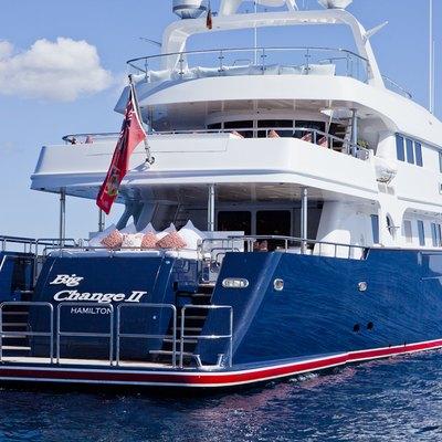 Big Change II Yacht Stern