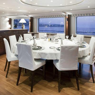 La Tania Yacht Dining Salon