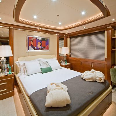 Latitude Yacht Blue Guest Stateroom