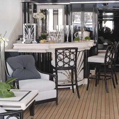Silver Angel Yacht Exterior Bar