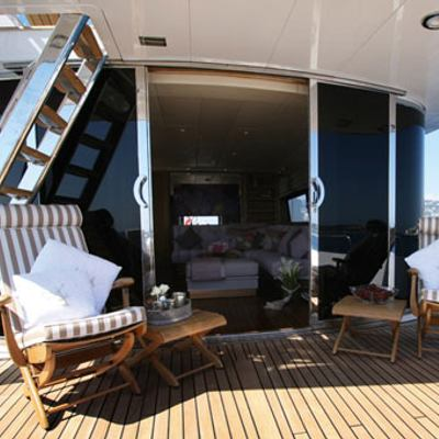 Sea Lady II Yacht View Inside