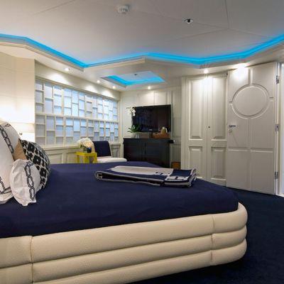 Diamond Yacht Lower Forward Double Stateroom