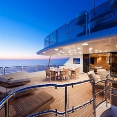 African Queen Yacht Sunset