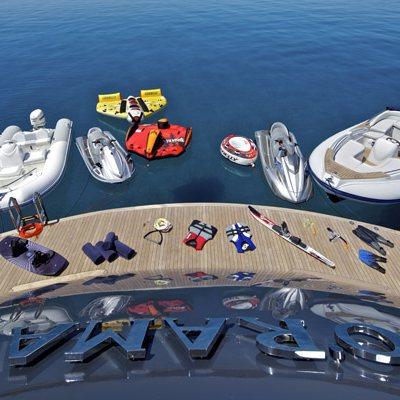 Mia Rama Yacht Swim Platform