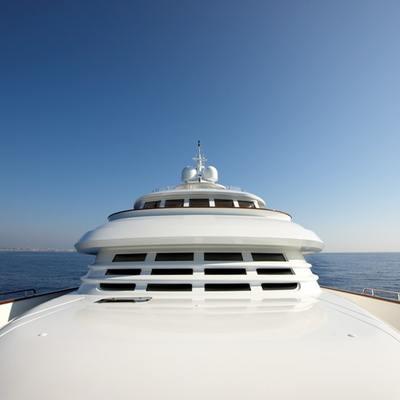 Northlander Yacht Foredeck
