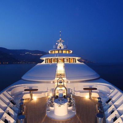 Capri I Yacht Deck - Night