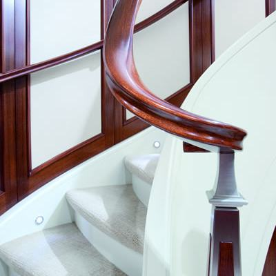 Avalon Yacht Staircase - Detail