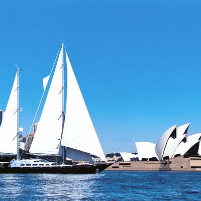Andromeda la Dea Yacht Sydney Harbour
