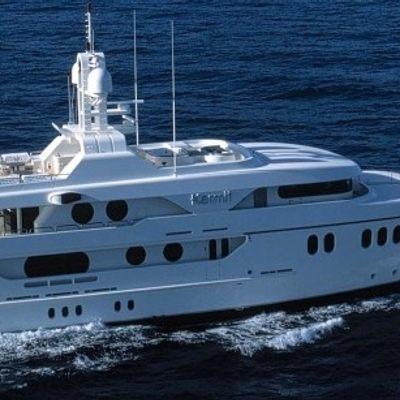 Mercury Yacht Running Shot - Profile
