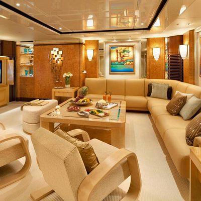 Sycara V Yacht Lounge/Library
