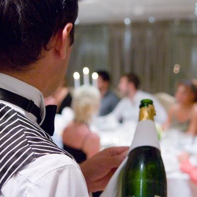 Elegant 007 Yacht Detail - Waiter