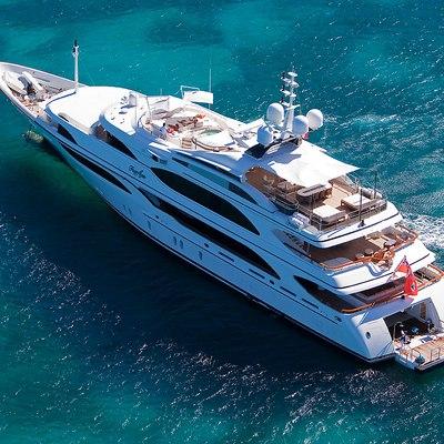 Jaguar Yacht Aerial View