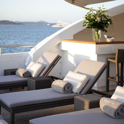 Gems II Yacht Sun Loungers