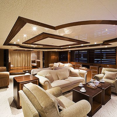 Princess Iolanthe Yacht Salon