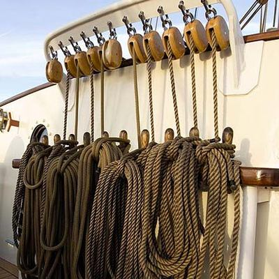 Adornate Yacht Deck Equipment
