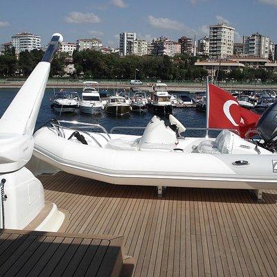 Merve Zodiac Boat