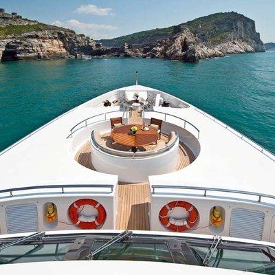 Olmida Yacht Bridge Deck Forward