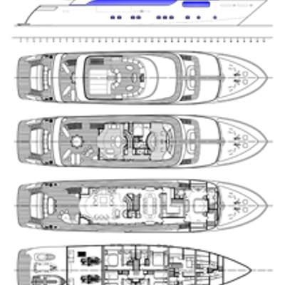 Michka V Yacht Deck Plans