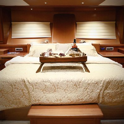 Mezcal 2 Yacht Master Stateroom
