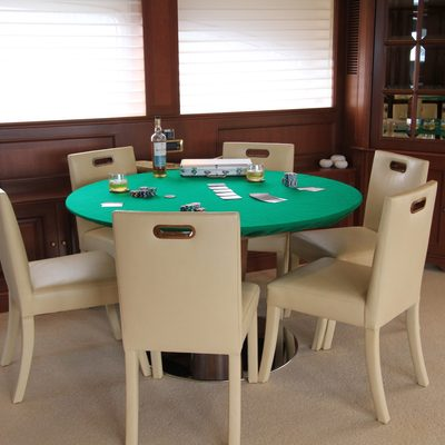 Brunello Yacht Sky Lounge Poker Table