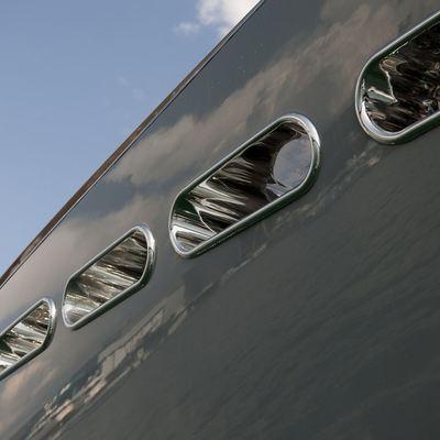 Ocean Emerald Yacht Side Detail