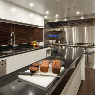 Baraka Yacht Galley