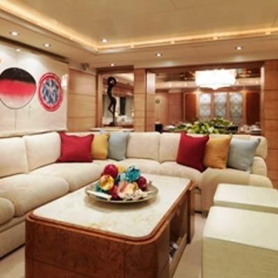 Balaju Yacht Main Salon - Seating