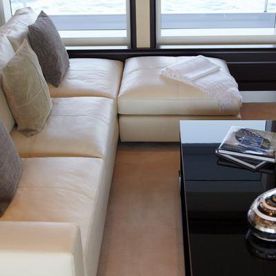 Megan Yacht Seating Area