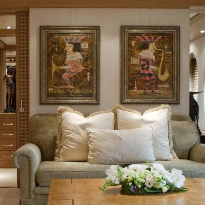 Deja Too Yacht Master Seating Area