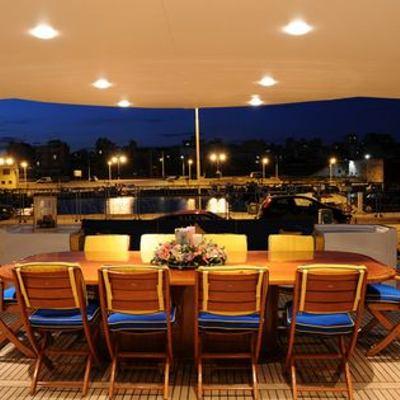 AMZ Yacht Deck Dining Area