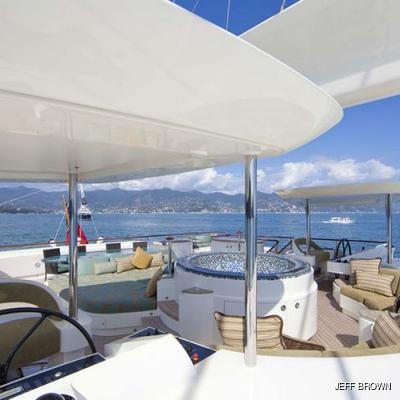 Hemisphere Yacht Sundeck