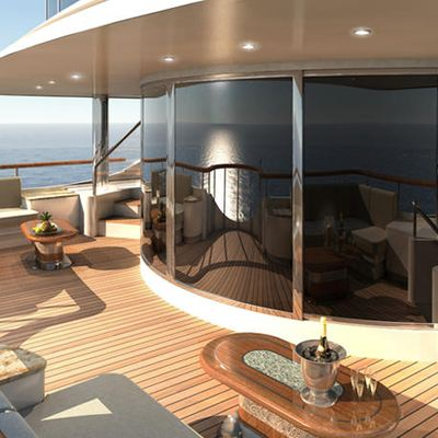 Diamonds Are Forever Yacht Upper Salon Deck - Day
