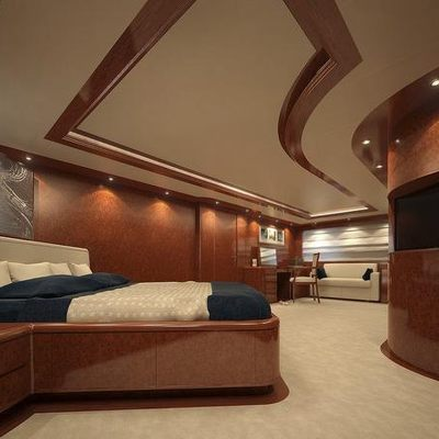 Baron Trenck Yacht VIP Stateroom - Side View