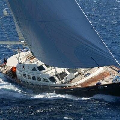 Principessa Vaivia Yacht Running Shot
