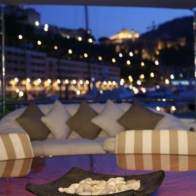 Marla Yacht Deck Seating - Night
