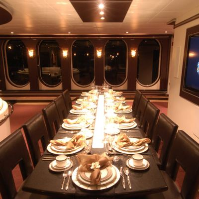 Global Yacht Dining Salon