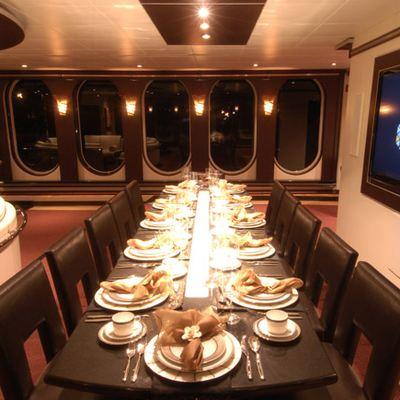 Global Yacht Dining Salon
