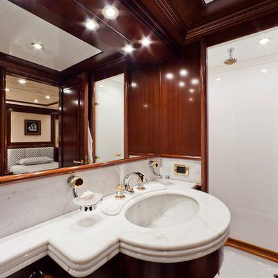 Sophie Blue Yacht Twin Bathroom